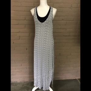 Cabi  Sleeveless Print Maxi Dress M